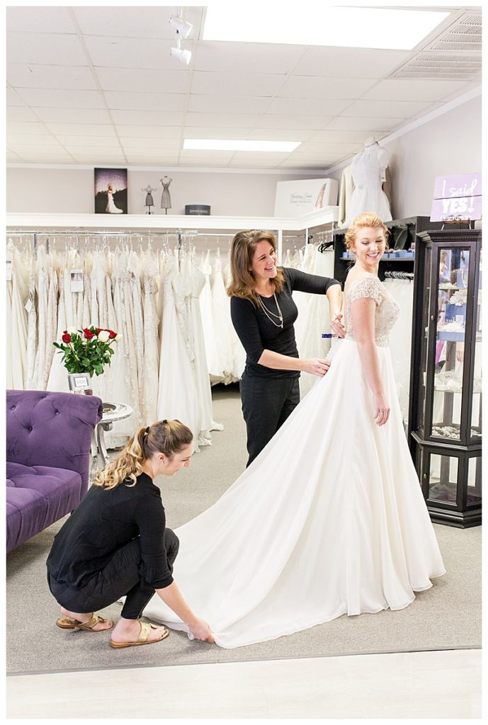 """e730ccbc764 Say """"Yes"""" to the Dress at Camille s of Wilmington - Focus on the ..."""